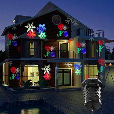 Global Illumination 10 Pattern outdoor LED Projector Light Christmas Xmas Halloween Party
