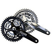 Mighty 22/32/44 Alloy/Steel Chainset - Black