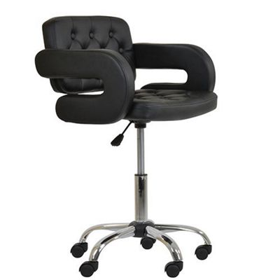 Stanford Black Small Office Chair