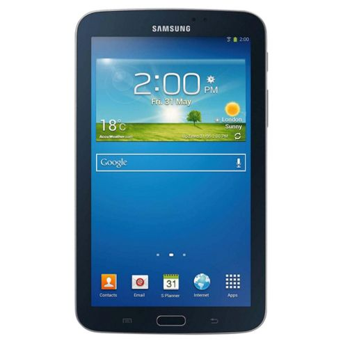 "Samsung Galaxy Tab 3, 7"" Tablet, 8GB, WiFi – Black"
