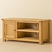 Roseland Oak Small TV Stand - Waxed Oak
