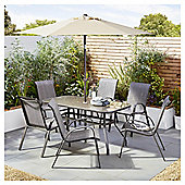 Tesco Seville 8 Piece Bronze Dining Set