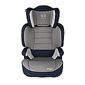 KinderKraft Spark Car Seat Group 2,3- Navy Blue