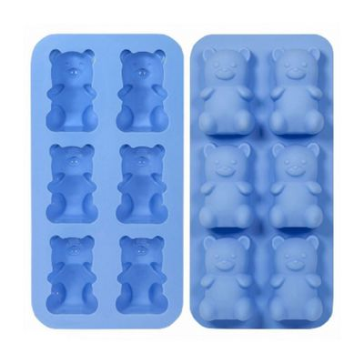 Thumbs Up Boozy Bear Jelly Shot Mould w/ Recipe Book, Silicone, Dishwasher and Microwave-Safe