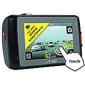 Mio MiVue 658 Touch Screen Car GPS + Extreme HDR Dash Camera Accident Recorder