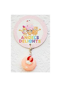 Children's Pink Macaroon Clip on Charm