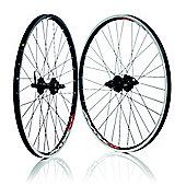 Wilkinson Mach 1 MX 8/9 Speed Shimano 475 MTB Disc or V-Brake Black 32H Rear Wheel