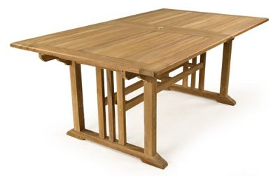 Bracken Style Berrington Double Extending Dining Table