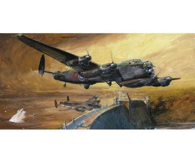 Lancaster - Dambuster / Grand Slam Bomber - 1:48 Scale Aircraft 61111 - Tamiya