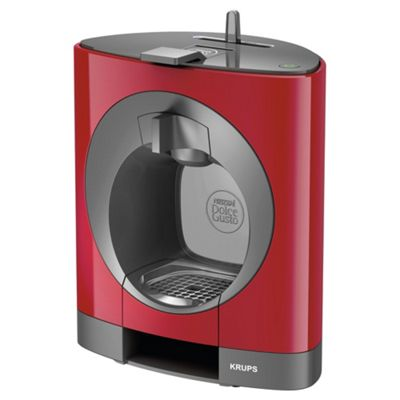 buy nescafe dolce gusto oblo manual coffee machine by krups red from our pod capsule. Black Bedroom Furniture Sets. Home Design Ideas