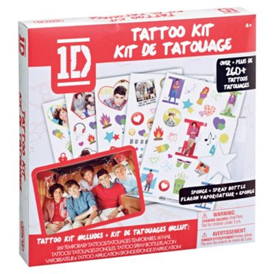 Body Tagz One Direction Body Transfer Kit