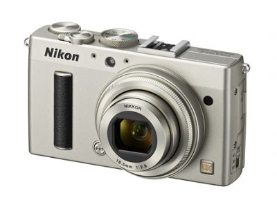 Nikon Coolpix A Camera Silver 16.2MP 3.0LCD FHD 28mm Wide Lens