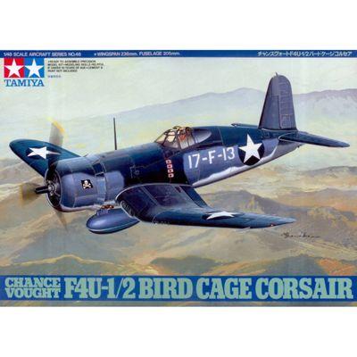 Chance Vought F4U-1/2 Bird Cage Corsair - 1:48 Aircraft - Tamiya