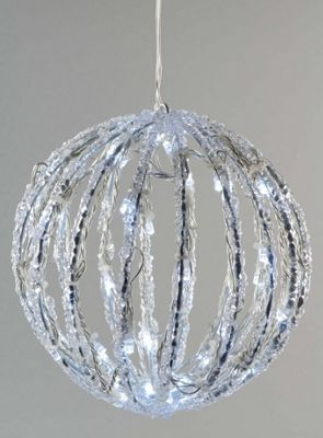 Buy led acrylic christmas ball 30cm cool white from our all led acrylic christmas ball 30cm cool white aloadofball Gallery