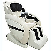 Homcom Luxury Reclining Leather Massage Chair Automatic Zero Gravity