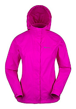 Mountain Warehouse Torrent Womens Waterproof Jacket - Pink