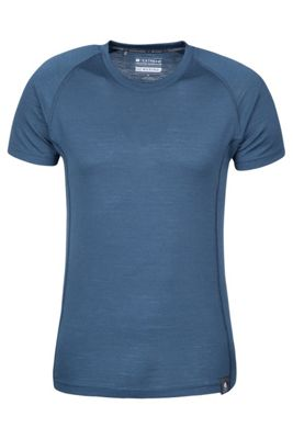 Summit Mens Merino T-Shirt - Navy - XL