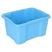 Tesco Basics Blue 22L Heavy Duty Storage Crate