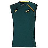 Asics South Africa Springboks Singlet / Vest 2015 - Green