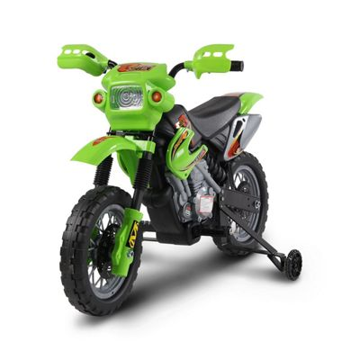 Kids Electric 6V Battery Power Ride On Motorcycle - Green