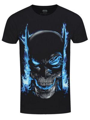 DC Comics Batman Skull Men's T-shirt Black