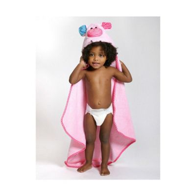 Zoocchini Baby Hooded Towels - Pinky the Piglet