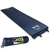 Trail 3cm Single Self-Inflating Camping Mat - Blue