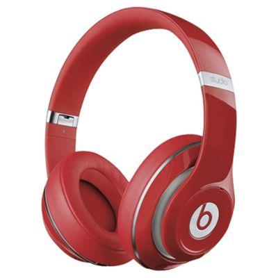 Beats Studio Over-Ear Headphones - Red