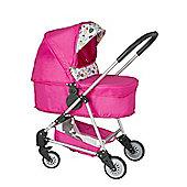 Mamas & Papas Urbo Pink Dolls Pram