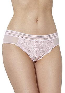 F&F Signature Rae Lace Shorts - Blush Pink