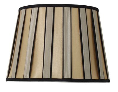 Bronze and Black 17 inch Lamp Shade Modern Chic Style