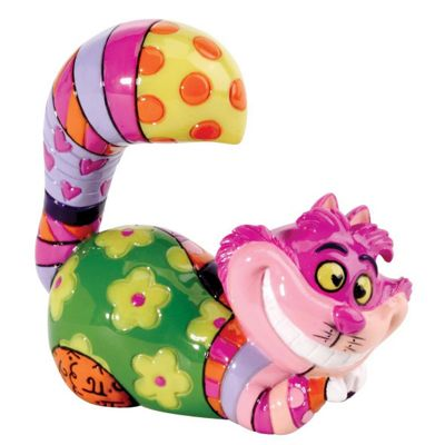 Enesco Disney Britto Cheshire Cat Mini Figurine