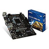 MSI B250M PRO-VH Intel Socket 1151 Motherboard