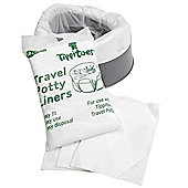 Tippitoes Travel Potty (White/Grey)