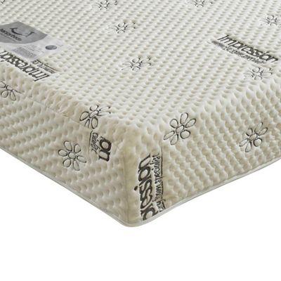 Happy Beds Visco 1000 Orthopaedic Memory Foam Regular Mattress 3ft Single