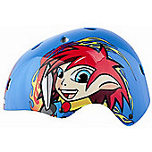 KIDZAMO BOYS BIKE HELMET JNR H/SHELL COBY 48/52 BLUE
