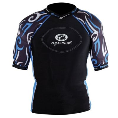 Optimum Razor Kids Rugby Body Protection Black/Blue - SB