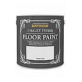 Rust-Oleum Chalk Chalky Floor Paint - Winter Grey - 2.5L
