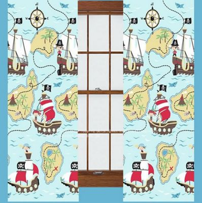Pirate Treasure Quest Curtains 72s