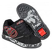 Heelys Propel 2.0 Black/Red/Confetti Kids Heely Shoe - Black