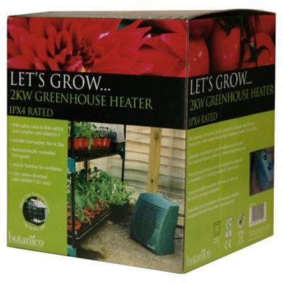 Botanico Electric Greenhouse Heater