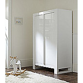 Tutti Bambini Rimini Wardrobe - High Gloss White Finish