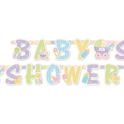 Baby Shower Baby Shower Letter Banner