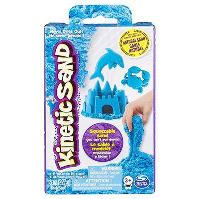 Kinetic Sand 8oz Neon Box- BLUE