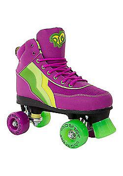 Rio Roller Classic II Grape Quad Roller Skates - Purple