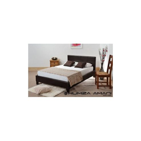 Humza Amani Prado Bed Frame - Brown - Small Double (4')