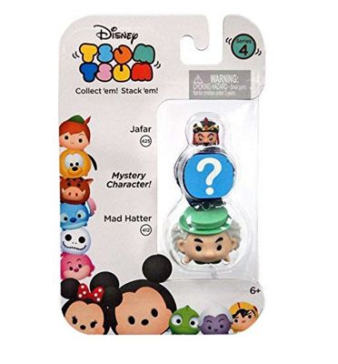 Disney Tsum Tsum Series 4 (Jafar, Mad Hatter & Mystery Character)