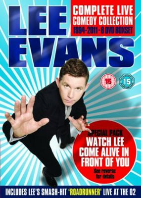 Lee Evans - Complete Live Comedy Collection Special Pack: 1994-2011 (DVD Boxset)