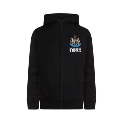 Newcastle United FC Boys Zip Hoody 6-7 Years