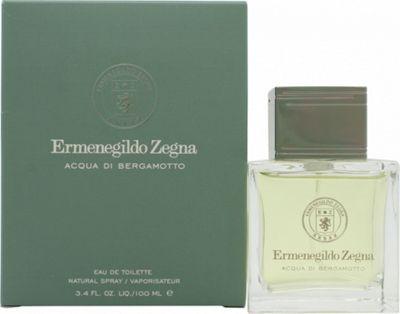 Ermenegildo Zegna Acqua di Bergamotto Eau de Toilette (EDT) 100ml Spray For Men